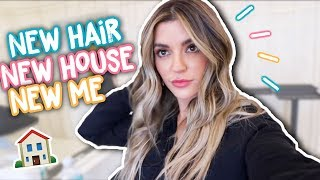 New Hair, New House, New Me!   Vlog