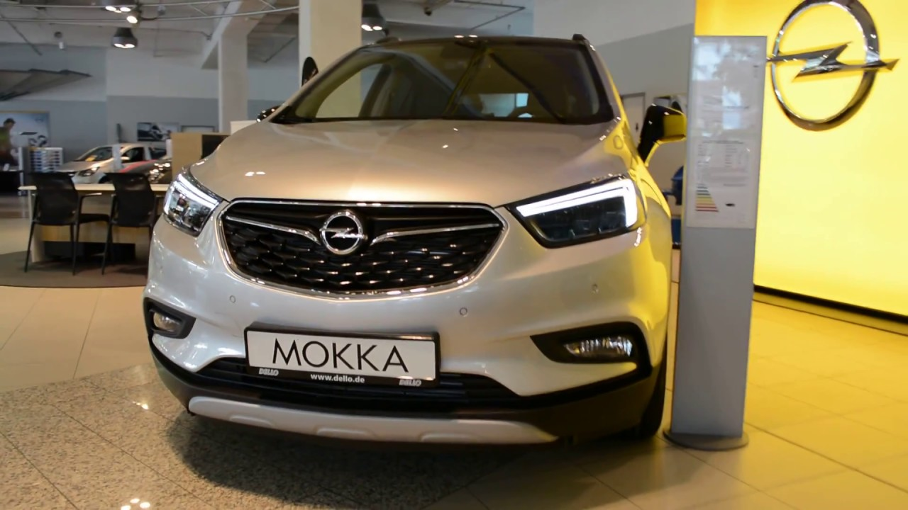 2018 new opel mokka x design line exterior and interior. Black Bedroom Furniture Sets. Home Design Ideas