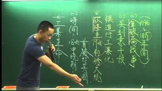 【學盟補習班】高健老師 高中歷史 工業革命