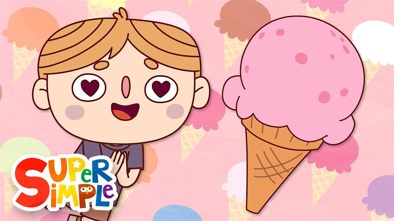 The Ice Cream Song | Kids Songs | Super Simple Songs