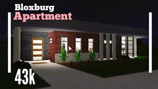 (43K) Budget Apartment Home SpeedBuild - Bloxburg ROBLOX