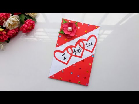 How to make  handmade love propose card/Love Card tutorial/ Handmade cards for someone special.