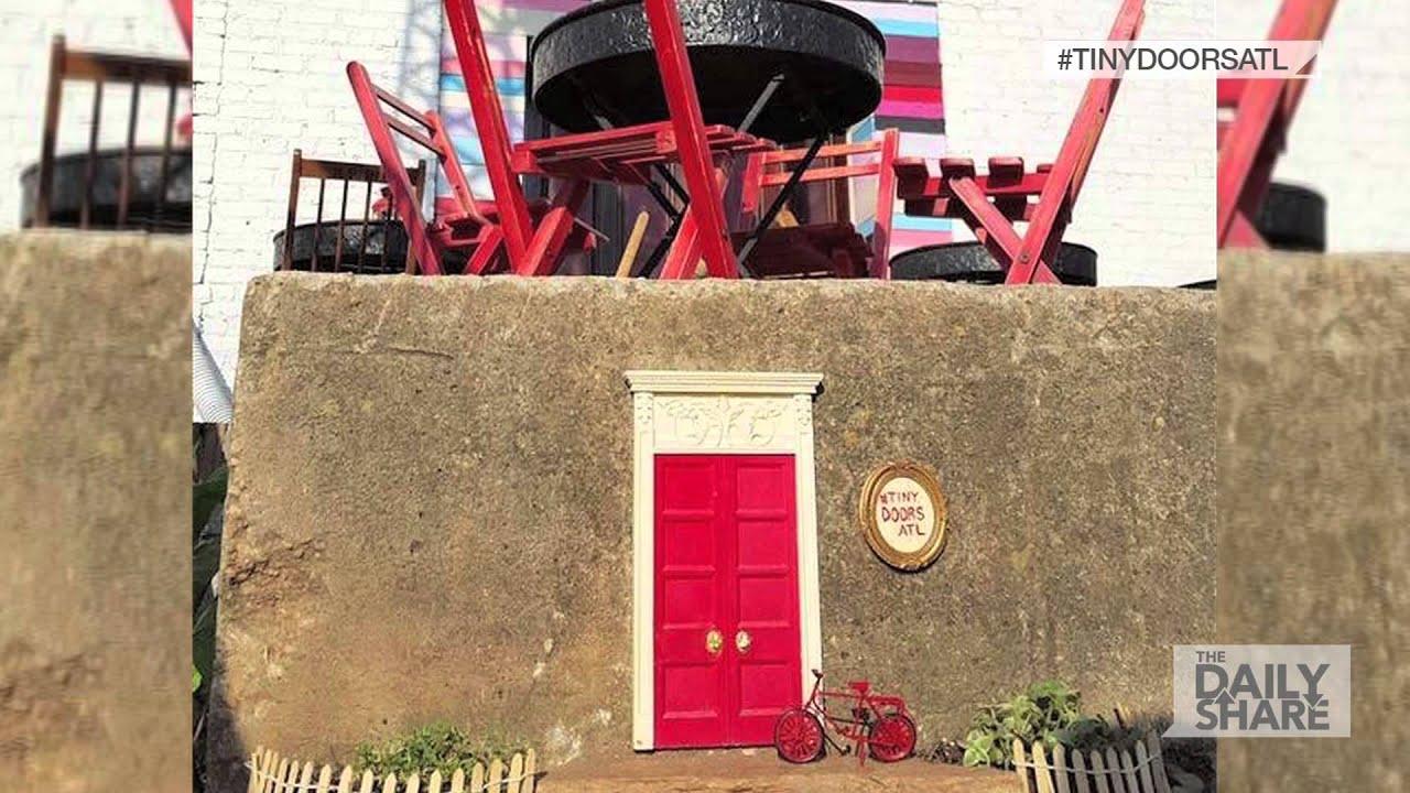 Tiny Doors Project in Atlanta & Tiny Doors Project in Atlanta - YouTube