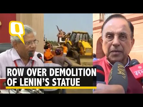 Who Smashed Lenin's Statue in Tripura? Left Says it is RSS & BJP
