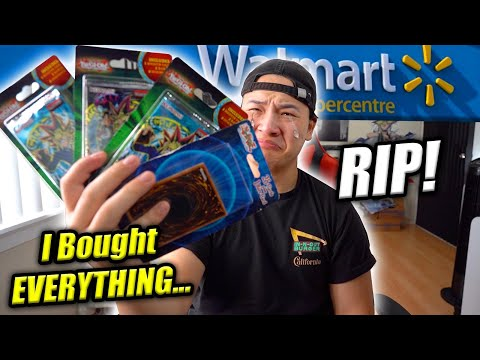 I Bought EVERY YuGiOh Booster Pack At Walmart...Again!