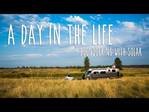 Boondocking with Solar - Wild and Free Camping in an RV