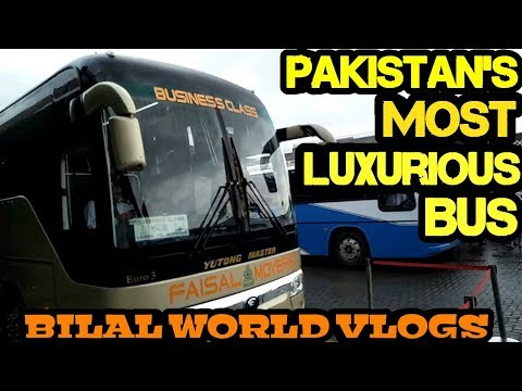 Traveling to Islamabad in Pakistan's Most Luxurious Bus | Faisal Movers | BILALWORLDVLOGS