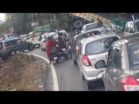 DASH CAM CAPTURE DRAMATIC CAR &LORRY CRASH ,JAMMU,AKHNOOR MOTORWAY(J&K,INDIA)