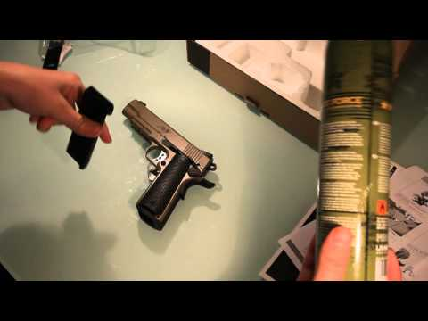 Army R28 Kimber Warrior unboxing (magyar)