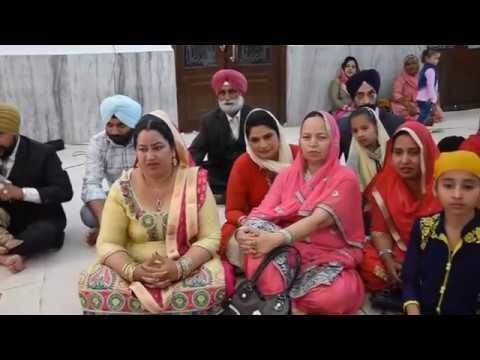 Sache Saheba (Bhai Mehtab Singh ji Compostition) - Sikh Couple Gurbani kirtan on their Marriage