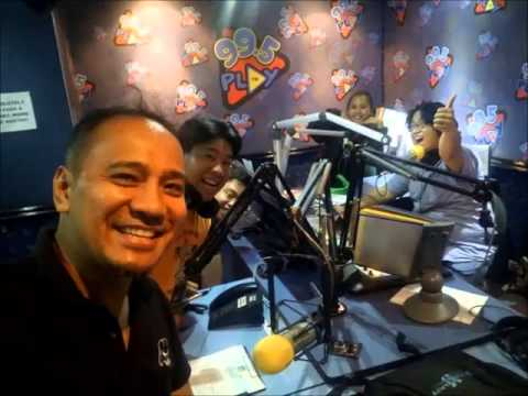 13th Philippine Toycon 2014 live in 99.5 Play FM with Billy and Mandy
