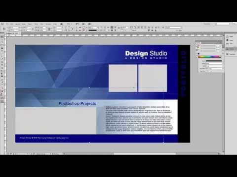 Creating an Interactive Portfolio with InDesign - Part 1