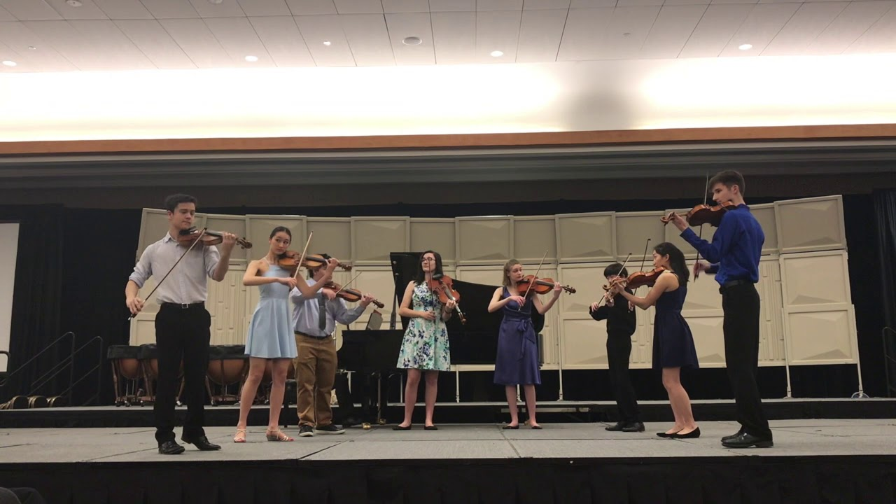 Jacobs School of Music String Academy Virtuosi - ASTA National Conference  2019