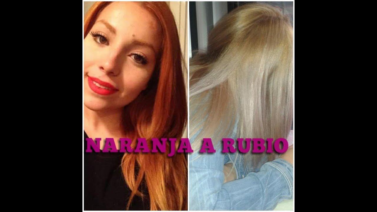 Como matizar el cabello rubio youtube - Como matizar el pelo rubio en casa ...