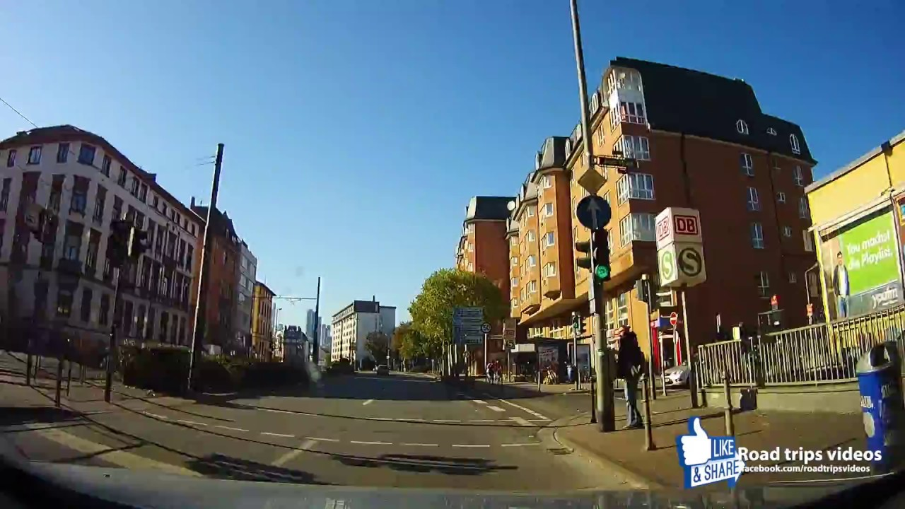 road trip driving in frankfurt am main and eschborn oktober 2016 germany youtube. Black Bedroom Furniture Sets. Home Design Ideas