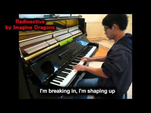 Imagine Dragons - Radioactive w/ Lyrics (Will Ting Piano Cover)