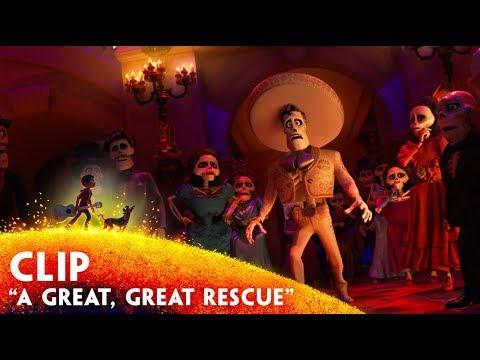 "'A Great, Great Rescue"" Clip - Disney/Pixar's Coco"