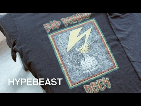 Shepard Fairey Shares His Collection of Vintage Band Tees Mp3