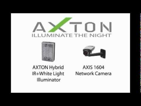 AXTON  AT-20HS Hybrid and AXIS 1604 Camera Synchronization
