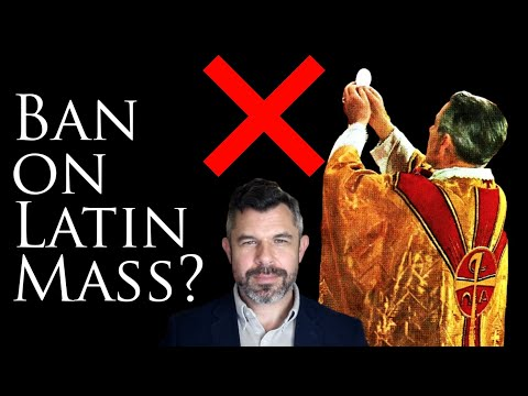 "Jesuit: Latin Mass Ban by Bishops (""young people not allowed to attend"")"