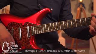 Scott Walker Electro Electric Guitar, Candy Apple Red Played by Stuart Ryan
