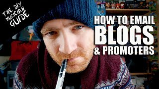 How to Email Music Blogs & Promoters in 2018 - My 5 Tips | The DIY Musician Guide