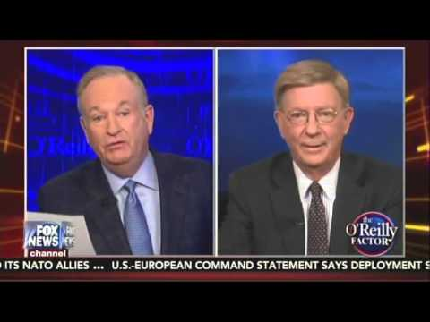 O'Reilly Battles George Will: 'You're A Hack! You're A Liar!'