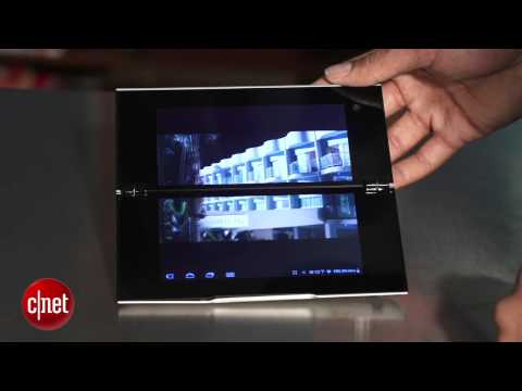 Sony's Foldable Touch Screen Tablet
