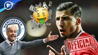 Manchester City boucle l'arrivée de Rúben Dias pour 68 M€ | Revue de presse