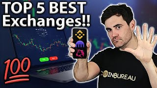 Best Crypto Exchanges 2021: My TOP 5 Picks!! 🧐