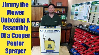 Cooper Pegler CP 3 series 2000 knapsack backpack sprayer unboxing - build & assembly tutorial review
