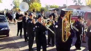 Peregrinación Batallón 12 a Santuario María Auxiliadora (Rodeo del Medio, Mendoza)