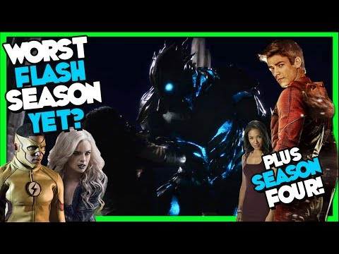 "Thumbnail: Worst Flash Season Yet? Flash Season FINALE 3x23 ""Finish Line"" REVIEW"