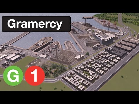 Cities Skylines: Gramercy | Episode 1 - The Navy Yards