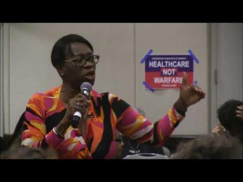 Senator Nina Turner.  Progressive Caucus of the CDP