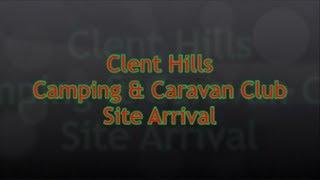 West Midlands - Clent Hills Camping & Caravan Club Site Arrival
