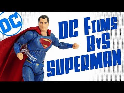 DC Collectibles DC Films Batman v Superman Henry Cavill Action Figure Unboxing Review