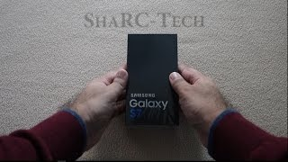 Galaxy S7 Duos (Dual sim)- Black Onyx 32GB Unboxing