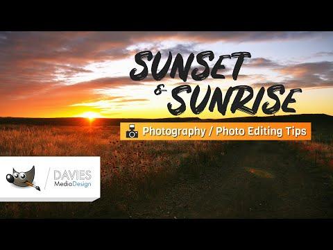 Sunrise/Sunset Photography and Photo Editing Tips (GIMP Tutorial) thumbnail
