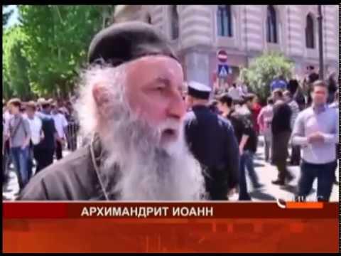 Попытка провести гей-парад в Грузии закончилась масштабными погромами