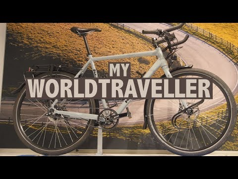My New Koga WorldTraveller Touring Bicycle For A 2-Year Bike Trip!!