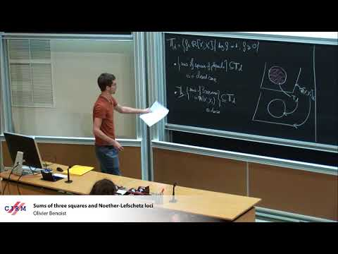 Olivier Benoist: Sums of three squares and Noether-Lefschetz loci