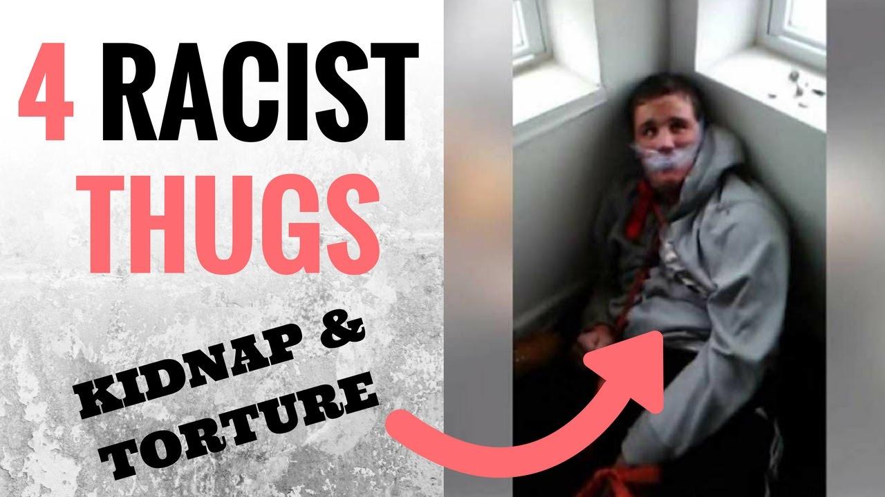 White guy and thug
