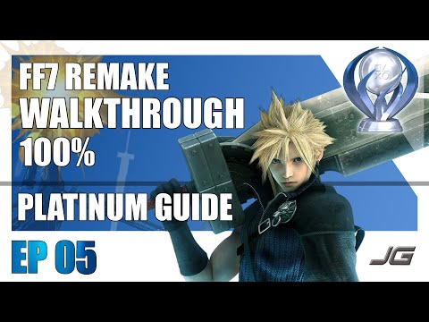 [EP05] FF7 Remake 100% PLATINUM Walkthrough - Chapter 3 (Part 2) from YouTube · Duration:  31 minutes 58 seconds