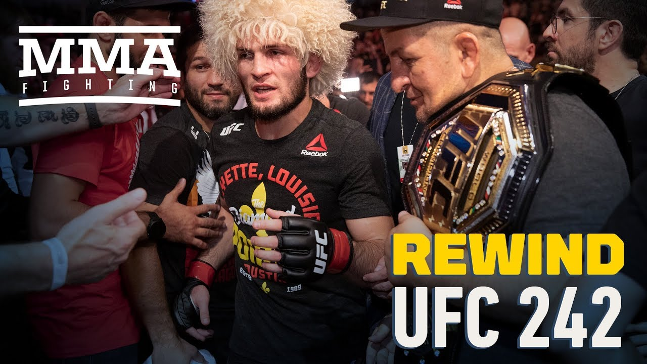 UFC 242 Rewind: Khabib Nurmagomedov Defends UFC Title Again - MMA Fighting