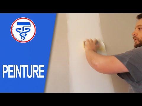 comment poncer la main les joints d 39 un placo neuf youtube. Black Bedroom Furniture Sets. Home Design Ideas