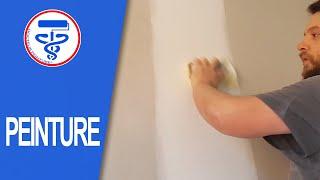 Comment poncer à la main les joints d'un placo neuf