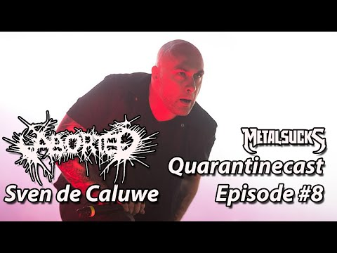 ABORTED's Sven de Caluwé on The MetalSucks Quarantinecast #8