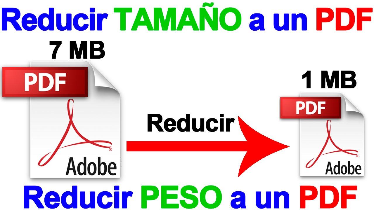 C mo reducir el tama o de los archivos PDF f cilmente