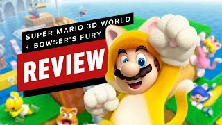 Super Mario 3D World + Bowser's Fury Review (Video Game Video Review)